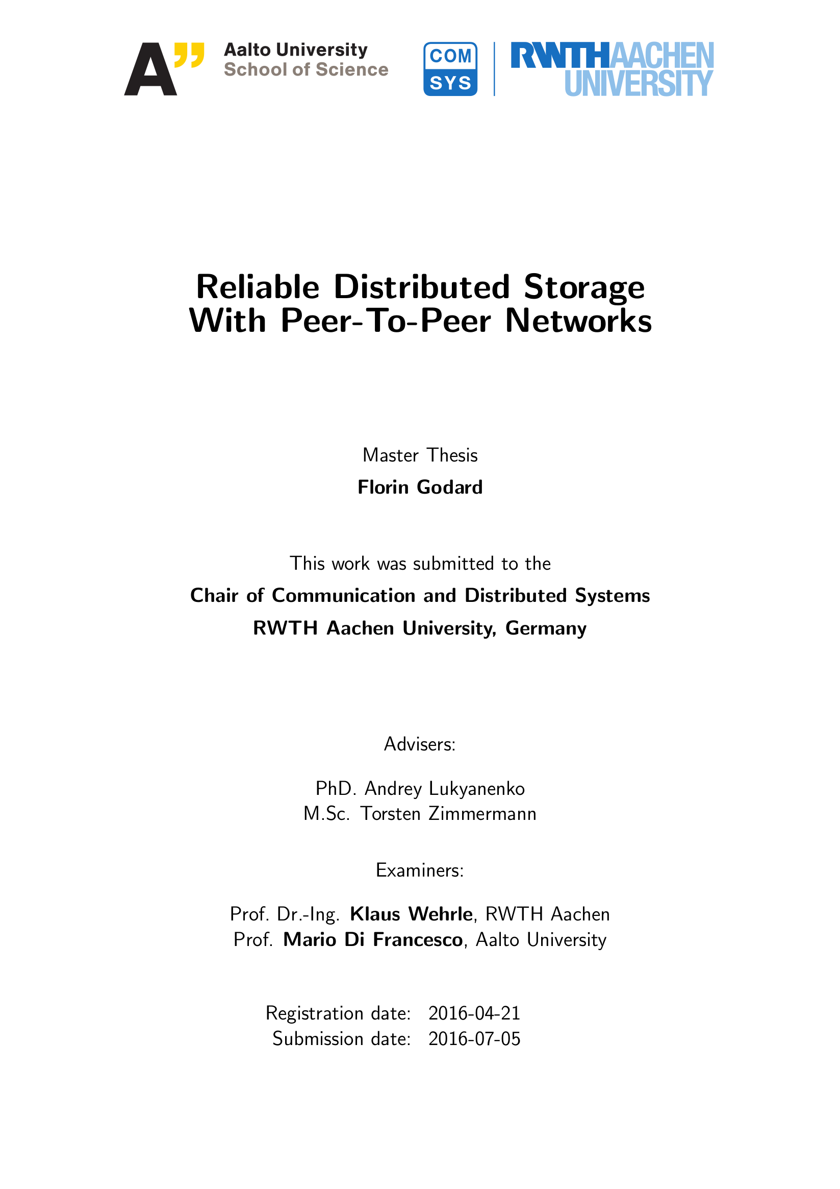 Masters thesis on php and mysql